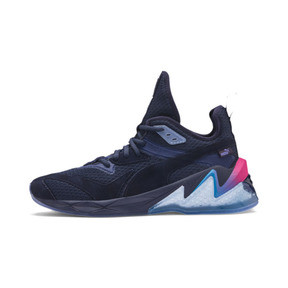 Thumbnail 1 of LQDCELL Origin Drone Night Men's Trainers, Peacat-Btr Prple-BLU Danube, medium
