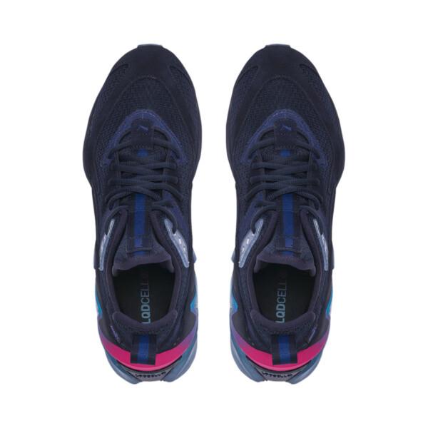 LQDCELL Origin Drone Night Men's Shoes, Peacat-Btr Prple-BLU Danube, large