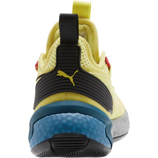 Zapatos para básquetbolUproar Spectra, Limelight- Black- White, grande