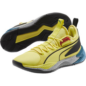 Thumbnail 2 of Uproar Spectra Basketball Shoes, Limelight- Black- White, medium