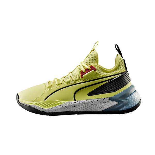 new arrival b4aa9 23ae5 Uproar Spectra Basketball Shoes, Limelight- Black- White, large