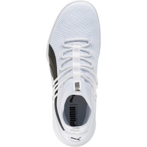 Thumbnail 5 of Clyde Court Basketball Shoes JR, Puma White, medium