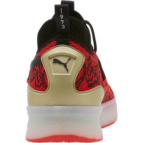 Thumbnail 3 of Clyde Court London Men's Basketball Shoes, High Risk Red-Puma Black, medium