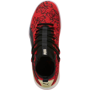 Thumbnail 5 of Clyde Court London Men's Basketball Shoes, High Risk Red-Puma Black, medium
