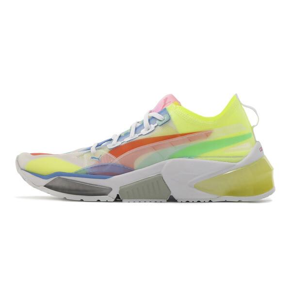 LQDCELL Optic Sheer Women's Training Shoes, Puma White, large