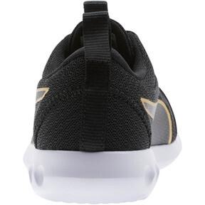 Thumbnail 3 of Carson 2 Metallic Mesh Shoes JR, Puma Black-Gold, medium
