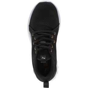 Thumbnail 5 of Carson 2 Metallic Mesh Shoes JR, Puma Black-Gold, medium