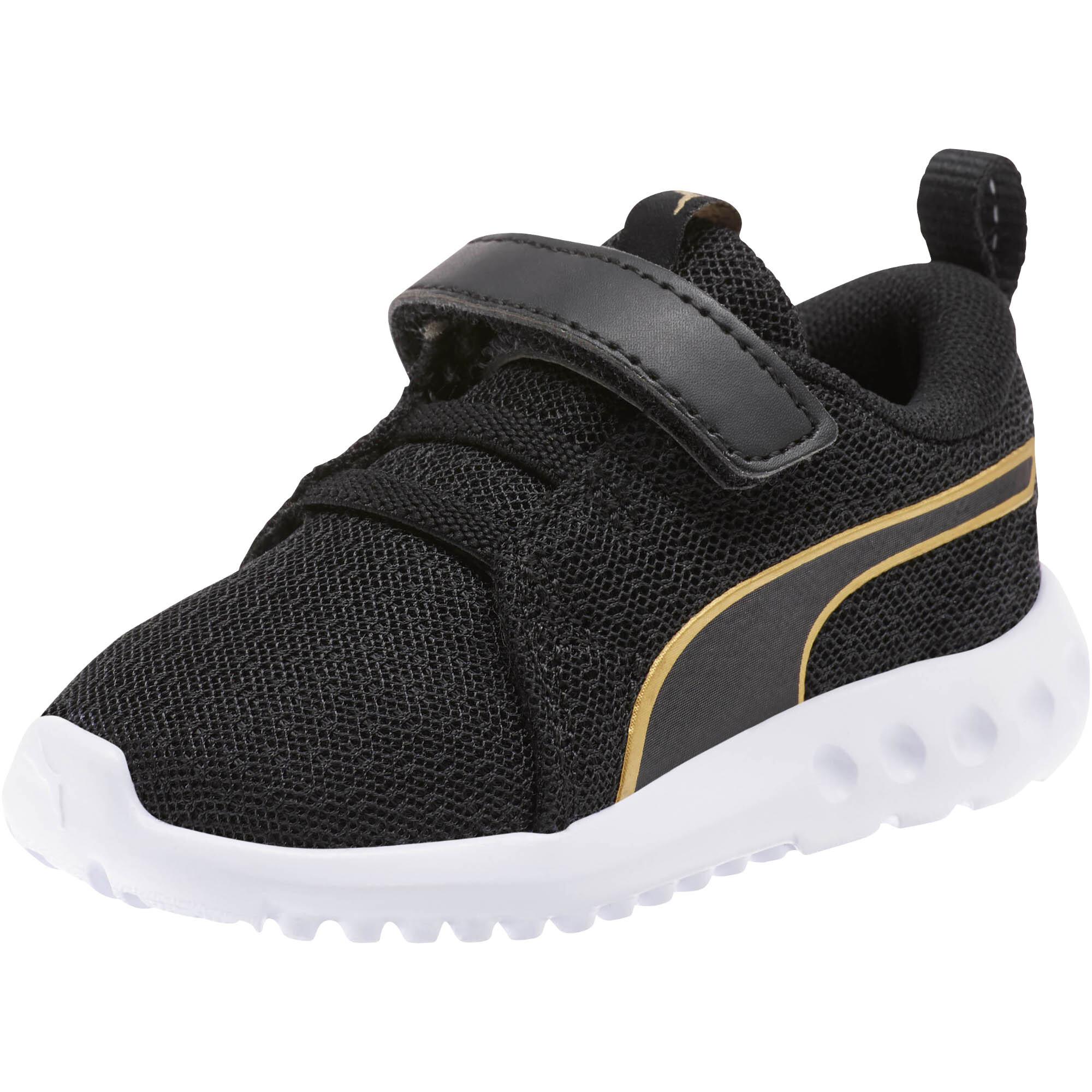PUMA-Carson-2-Metallic-Mesh-Toddler-Shoes-Girls-Shoe-Kids thumbnail 4
