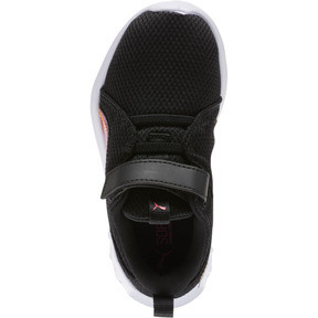 Thumbnail 5 of Carson 2 Iridescent Little Kids' Shoes, Puma Black-Puma White, medium