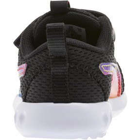 Thumbnail 3 of Carson 2 Iridescent Toddler Shoes, Puma Black-Puma White, medium