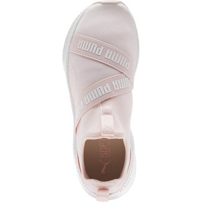 Thumbnail 5 of NRGY Star Slip-On Women's Running Shoes, Pearl-Puma White, medium