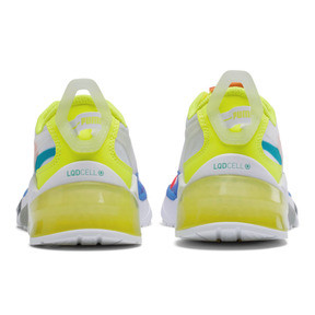 Thumbnail 3 of LQDCELL Optic Sheer Training Shoes JR, White-Nrgy Rose-Yellow, medium