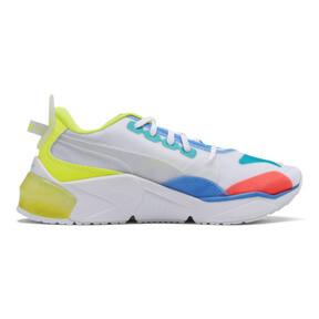 Thumbnail 5 of LQDCELL Optic Sheer Training Shoes JR, White-Nrgy Rose-Yellow, medium