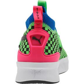 Miniatura 3 de Zapatos de baloncesto Clyde Court Summertime para JR, 802 C Fluro Green PES, mediano