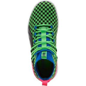 Miniatura 5 de Zapatos de baloncesto Clyde Court Summertime para JR, 802 C Fluro Green PES, mediano