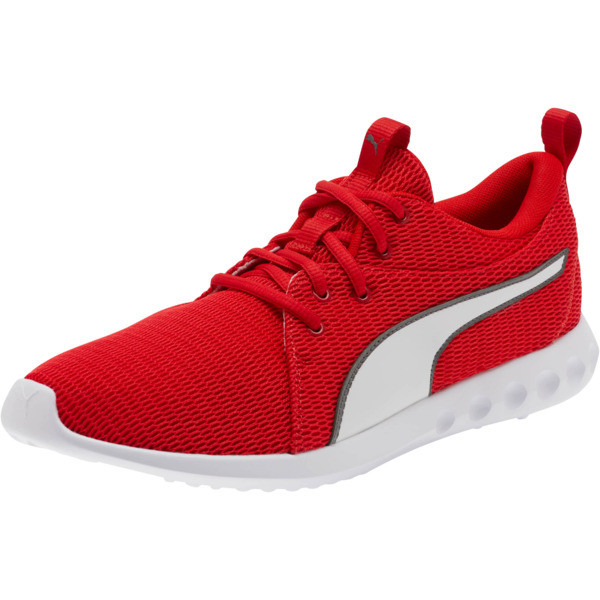 Carson 2 New Core FS Sneakers, High Risk Red-Charcoal Gray, large