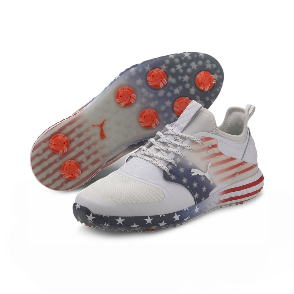 Image Puma PWRADAPT Caged Stars & Stripes Men's Golf Shoes #2