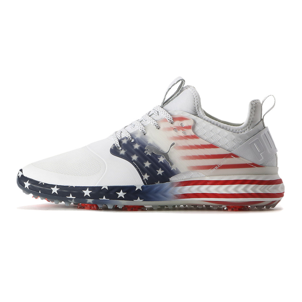 Image Puma PWRADAPT Caged Stars & Stripes Men's Golf Shoes #1
