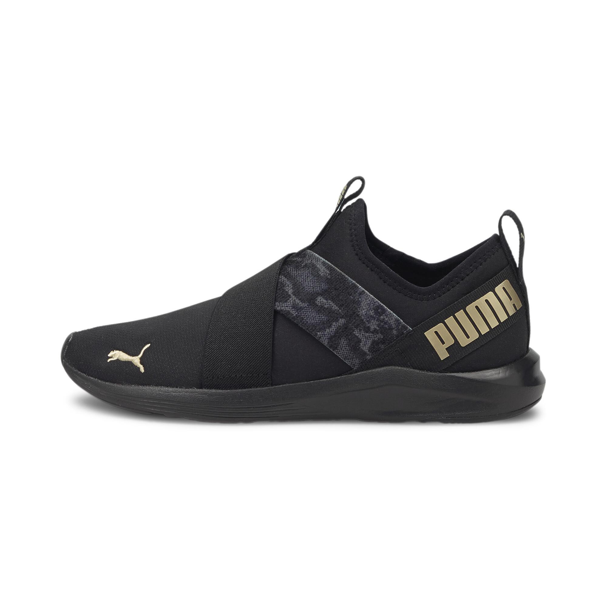 Puma Black-Puma Team Gold