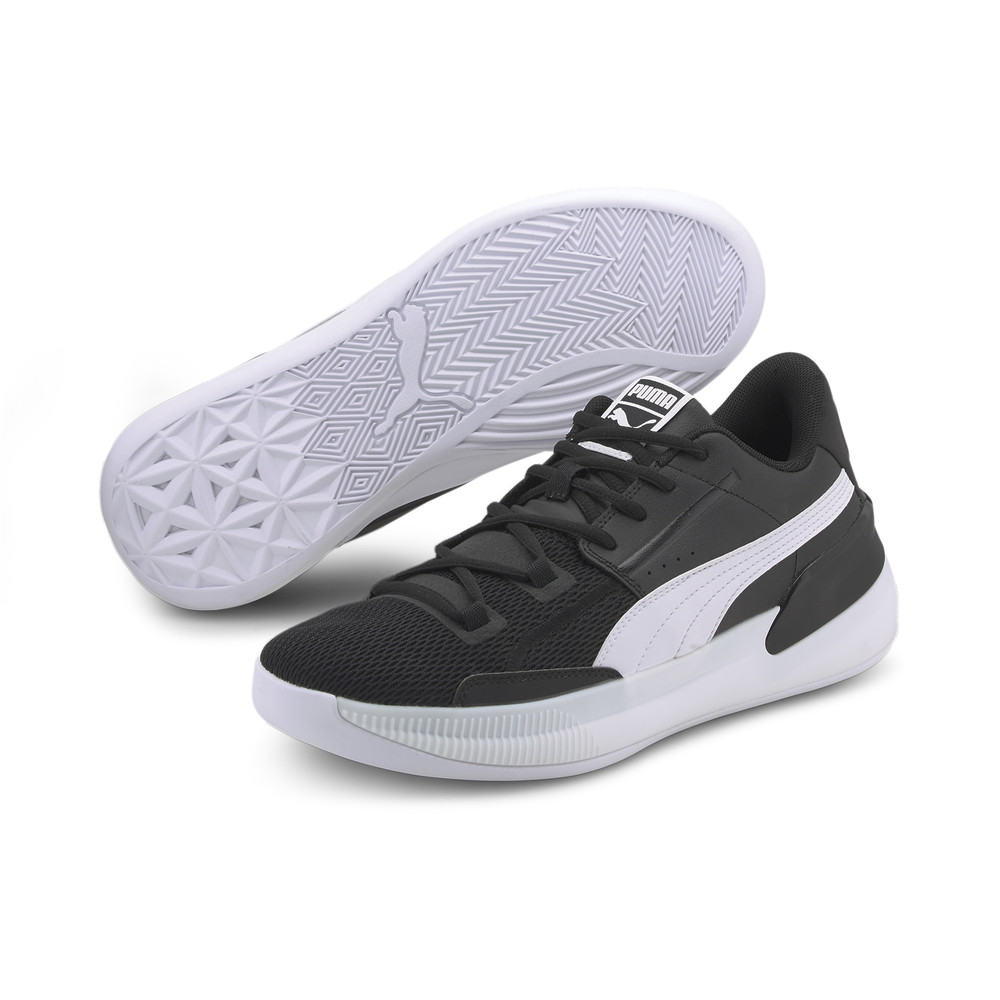 Image PUMA Clyde Hardwood Team Men's Basketball Shoes #2