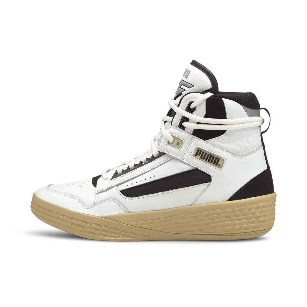 Image PUMA PUMA x KUZMA Clyde All-Pro Mid Men's Basketball Shoes #1