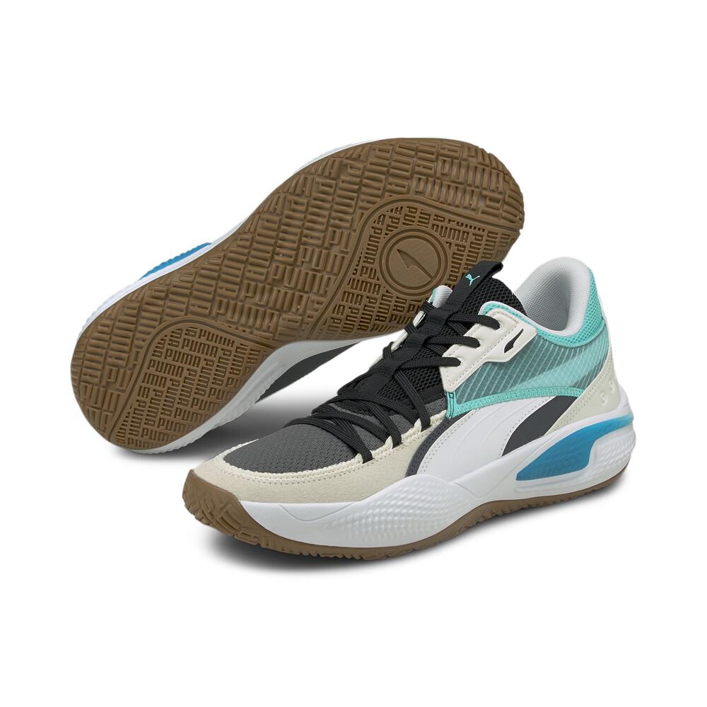 Image PUMA Court Rider Summer Days Basketball Shoes #2