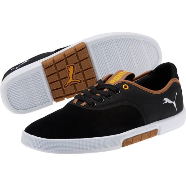 Funist Lo MU Men's Sneakers, black, large