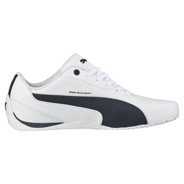 BMW M Drift Cat 5 Men's Shoes, Puma White-Team Blue, large