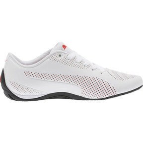 Thumbnail 3 of Scuderia Ferrari Drift Cat 5 Ultra Shoes, Puma White-Rosso Corsa-Black, medium