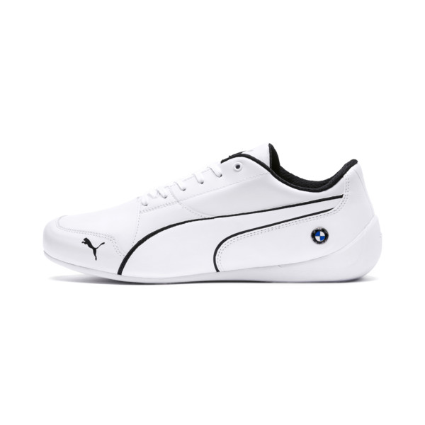 BMW Motorsport Drift Cat 7 Sneaker, Puma White-Puma White, large