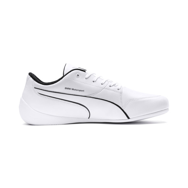BMW Motorsport Drift Cat 7 Trainers, Puma White-Puma White, large