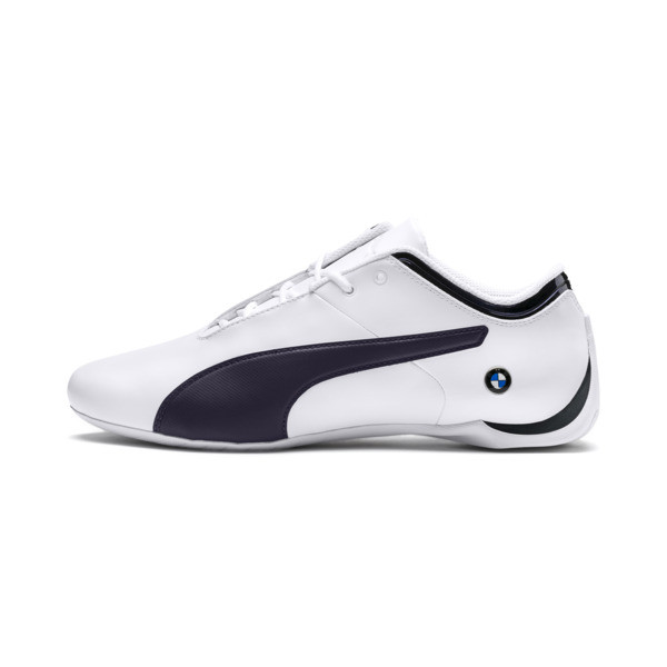 BMW Motorsport Future Cat Trainers, Puma White-Team Blue-2, large