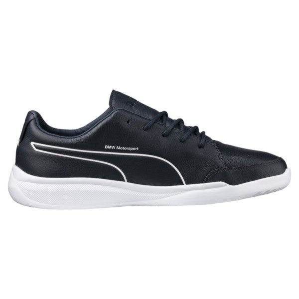 BMW Motorsport Casual Men's Trainers, Team Blue-Puma White, large