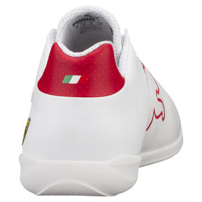 Thumbnail 4 of Ferrari Future Cat Casual Trainers, Puma White-Wht-Rosso Corsa, medium