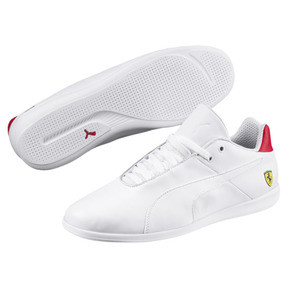 Thumbnail 2 of Ferrari Future Cat Casual Trainers, Puma White-Wht-Rosso Corsa, medium