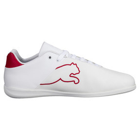Thumbnail 3 of Ferrari Future Cat Casual Trainers, Puma White-Wht-Rosso Corsa, medium