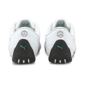 Thumbnail 4 of MERCEDES AMG PETRONAS Drift Cat Ultra Training Shoes, Puma White-Spectra Green-Blk, medium
