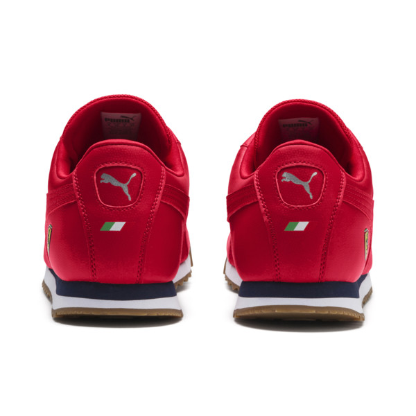 Zapatos deportivos Scuderia Ferrari Roma para hombre, Rosso Corsa-Rosso Corsa, grande