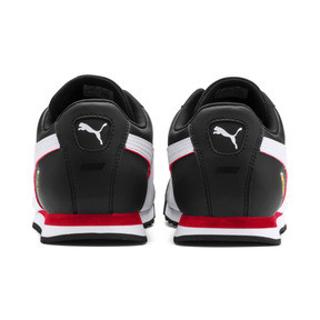 Miniatura 4 de Zapatos deportivos Scuderia Ferrari Roma para hombre, Black-White-Rosso Corsa, mediano