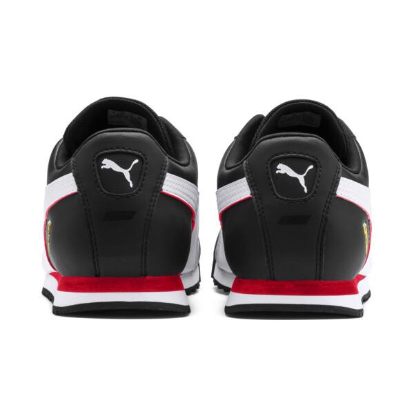 Zapatos deportivos Scuderia Ferrari Roma para hombre, Black-White-Rosso Corsa, grande