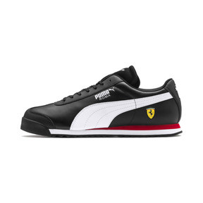 Miniatura 1 de Zapatos deportivos Scuderia Ferrari Roma para hombre, Black-White-Rosso Corsa, mediano