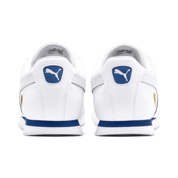 Scuderia Ferrari Roma Men's Sneakers, White-White-Galaxy Blue, large