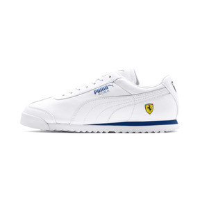 Thumbnail 1 of Scuderia Ferrari Roma Men's Sneakers, White-White-Galaxy Blue, medium