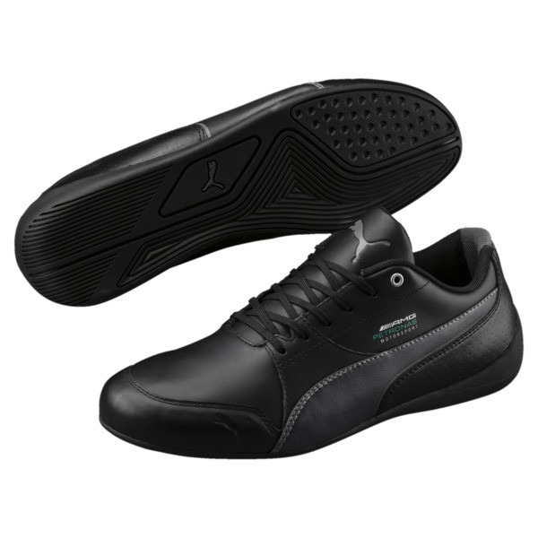 MERCEDES AMG PETRONAS Motorsport Drift Cat 7 Trainers, Puma Black-Puma Black, large