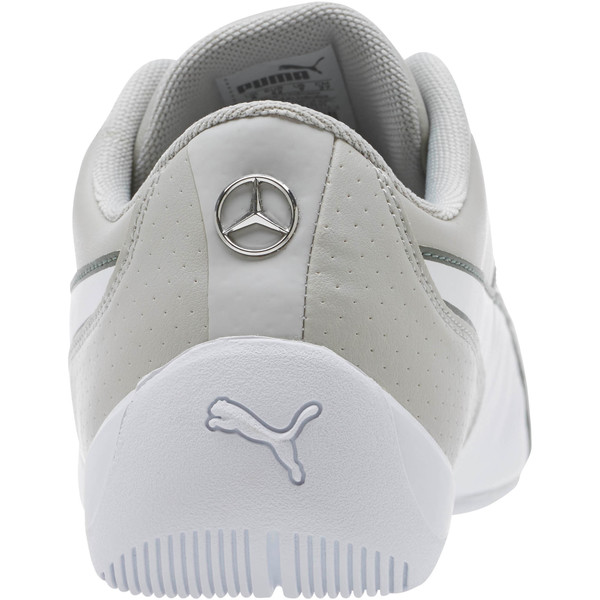 Mercedes AMG Petronas Motorsport Drift Cat 7 Shoes, M. Tm Slvr-Wht-Laurel Wreath, large
