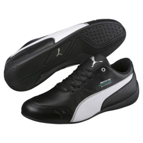 Thumbnail 2 of MERCEDES AMG PETRONAS Motorsport Drift Cat 7 Trainers, Black-White-Mercedes Tm Slvr, medium