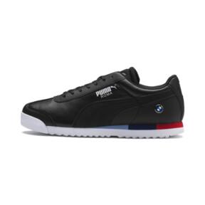Thumbnail 1 of BMW MMS Roma Men's Sneakers, Puma Black-Puma Black, medium
