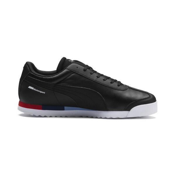 BMW MMS Roma Men's Sneakers, Puma Black-Puma Black, large