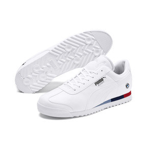 Thumbnail 2 of BMW M Motorsport Roma Men's Sneakers, Puma White-Puma White, medium