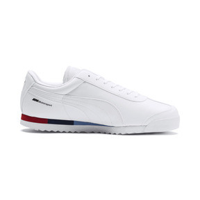 Thumbnail 5 of BMW M Motorsport Roma Men's Sneakers, Puma White-Puma White, medium